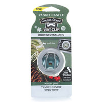 Yankee Candle simply home Winter Pine Car Vent Clip