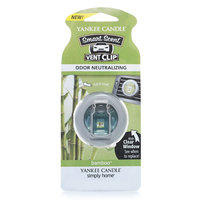 Yankee Candle simply home Bamboo Car Vent Clip (Green)