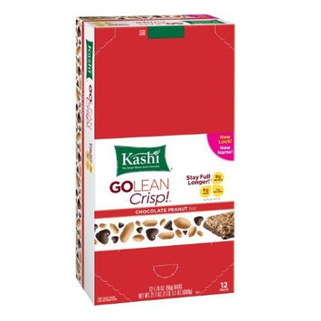 Kashi GOLEAN Bar Crunchy! Chocolate Peanut, 1.76-Ounce Bars (Pack of 12)