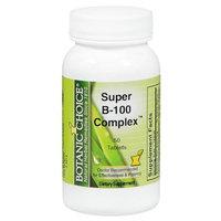 Botanic Choice Super B-100 Complex Dietary Supplement Tablets