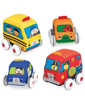 Melissa & Doug K's Kids - Pull-Back Vehicles