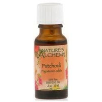 tures Alchemy Pure Essential Oil Patchouli, 0.5 oz, Nature's Alchemy