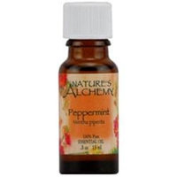 tures Alchemy Pure Essential Oil Peppermint, 0.5 oz, Nature's Alchemy