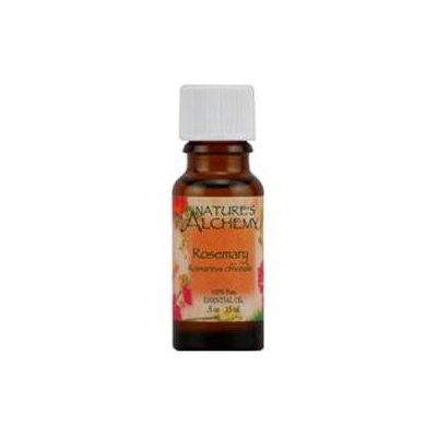 tures Alchemy Pure Essential Oil Rosemary, 0.5 oz, Nature's Alchemy