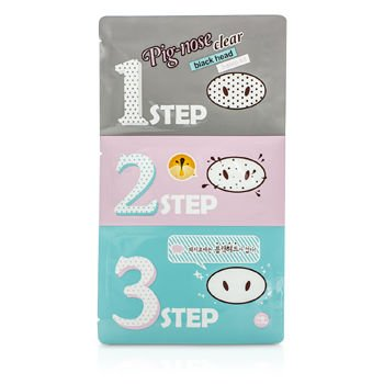 Holika Holika Pig Nose Clear Black Head 3 Step Kit 10pcs