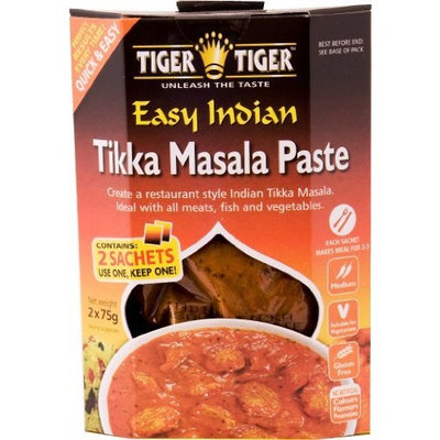 Tiger Tiger Tikka Masala Paste, 5.3 Ounce Boxes (Pack of 2)
