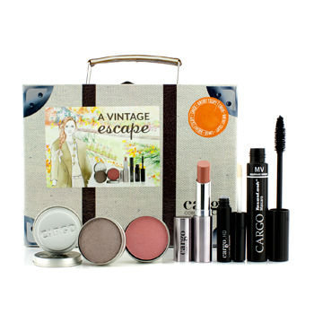 CARGO Vintage Escape Makeup Suitcase Set - Limited Edition