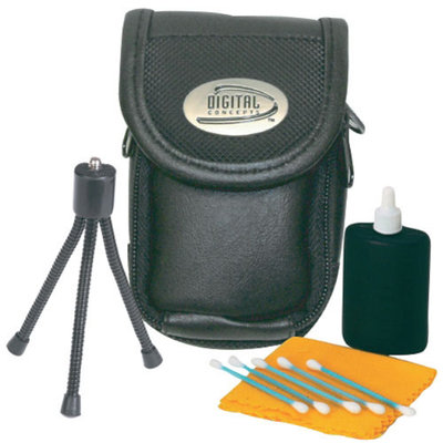 Sakar DC-115 Compact Digital Camera Starter Accessories Kit
