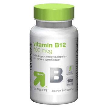 up & up up&up Vitamin B12 500 mcg Tablets - 100 Count