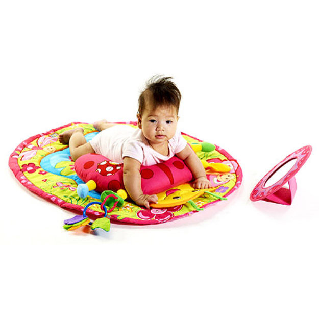 Tiny Love Tummy Time Fun Activity Mat - Ladybug