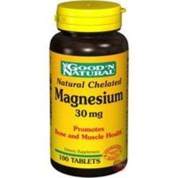 Good 'N Natural - Natural Chelated Magnesium 30 mg. - 100 Tablets