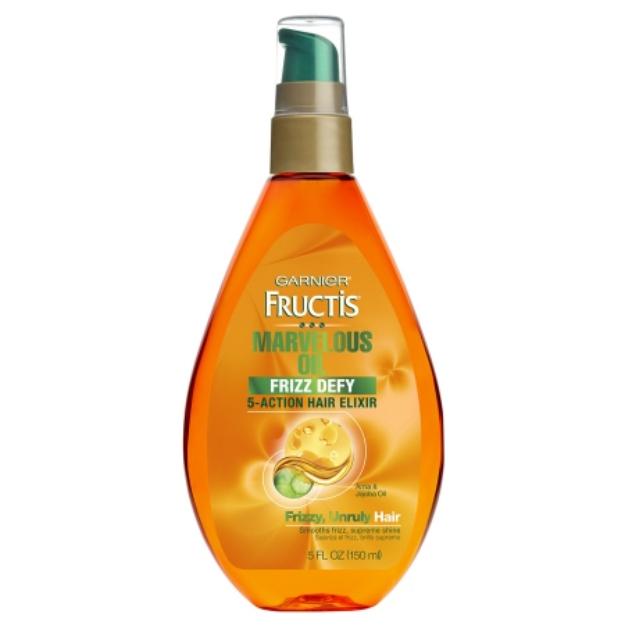 Garnier Fructis Style Unruly Hair Oil, 5.1 oz