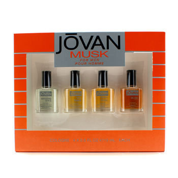Jovan Musk For Men Cologne Gift Set, 4 pc