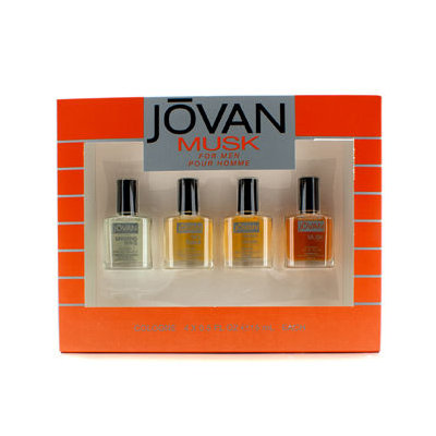 Jovan Musk For Men Cologne Gift Set, 4 pc