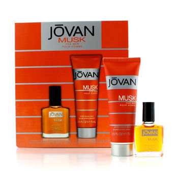 Jovan Musk For Men After Shave & After Shave Balm Gift Set, 2 pc