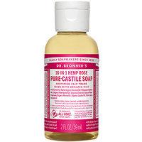 Dr Bonners 83853 Rose Castile Liquid Soap