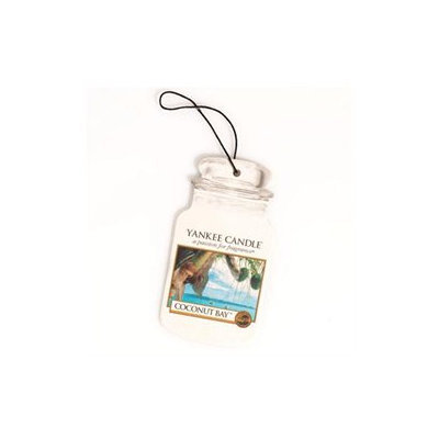 Yankee Candle Car Jar Hanging Air Freshener Coconut Bay Scent
