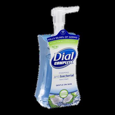 Dial Complete Foaming Antibacterial Hand Wash Coconut Water