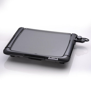 Presto Cool Touch Ceramic Tilt 'N Drain Electric Griddle (Black)