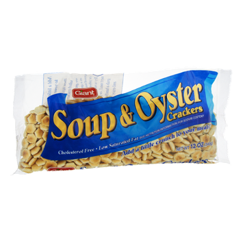Giant Soup & Oyster Crackers
