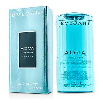 Bvlgari Aqva Pour Homme Marine Shampoo & Shower Gel 200ml/6.7oz