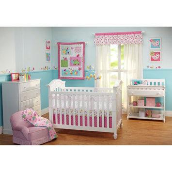 Taggies Sweet as a Bug Secure-Me Crib Liner, Pink