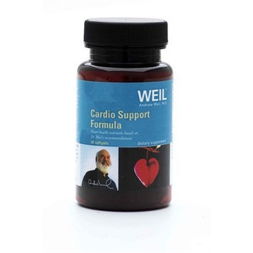Weil Nutritionals Weil Nutritional Cardio Support Formula Supplement Softgels, 30-Count Bottle
