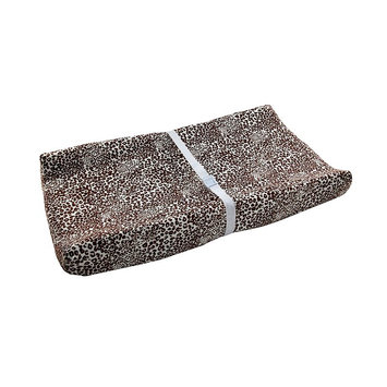 Wendy Bellissimo Sweet Safari Changing Table Cover (Black/White/Leopard)