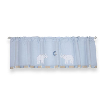 Crown Craft Wendy Bellissimo - Walk With Me Window Valance