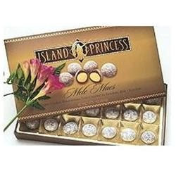 Island Princess Discount Hawaiian Gifts Mele Macs (Chocolate Toffee Macadamia Nuts) Gift Box