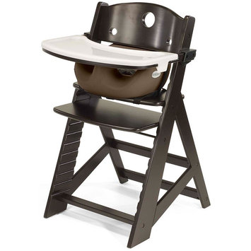 Keekaroo Height Right Mahogany Wood Infant High Chair (Brown)