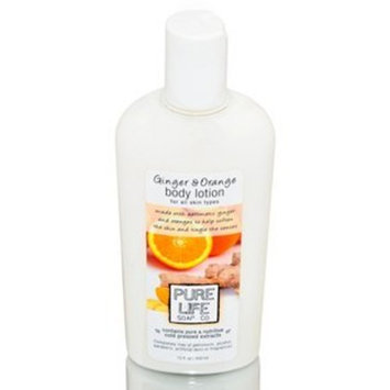 Pure Life Soap Co. - Ginger & Orange Body Lotion - 15 oz