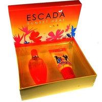 Escada Sunset Heat by Escada for Women 2 Piece Set Includes: 3.3 oz Eau de Toilette Spray + 5.0 oz Moisturizing Body Lotion