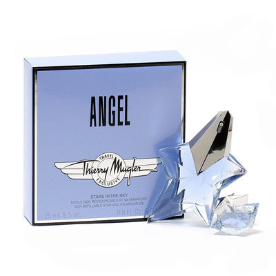 THIERRY MUGLER 12964431 ANGEL by THIERRY MUGLER - .85OZ - MINI -ON PACK