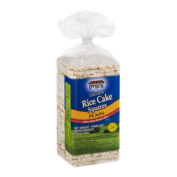 Paskesz Ultra-thin Rice Cake Squares Plain