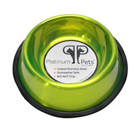 Platinum Pets 6.25-Cup Pet Bowl (Green)