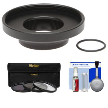 Replay XD 1080 Mini ProLens 37mm Adapter with 3 UV/CPL/ND8 Filters + Cleaning Kit