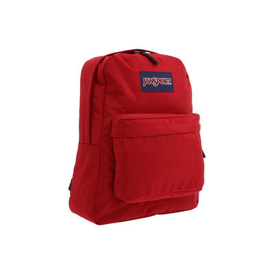 JanSport Superbreak Backpack-Viking Red, Viking Red