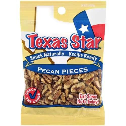 Texas Star: Pieces Pecan, 2 Oz