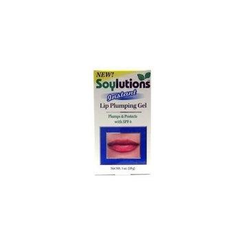 Soylutions SPF-6 Instant Lip Pumping Gel 1oz. Each (3 PACK)