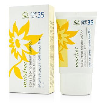 Innisfree Eco Safety No Sebum Sun Block SPF35 PA+++ 50ml