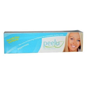 Peelu Toothpaste Fluoride Free, Peppermint, 7 Ounce