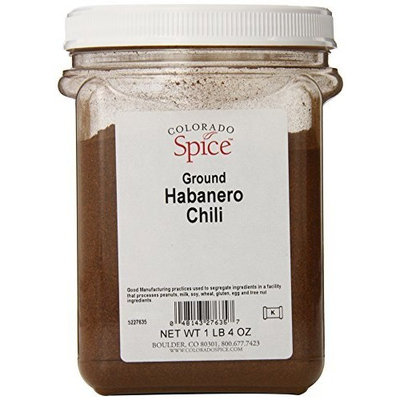 Colorado Spice Chili Pepper, Habanero, 20 Ounce Jar