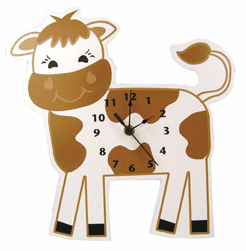 Test WALL CLOCK COW
