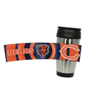 Hunter Manufacturing Chicago Bears Travel Mug: 15 oz Stainless Steel Travel Tumbler Hunter Manufacturers