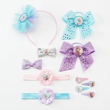 Disney Frozen Elsa & Anna Hair Accessory Set - Girls (Grey)