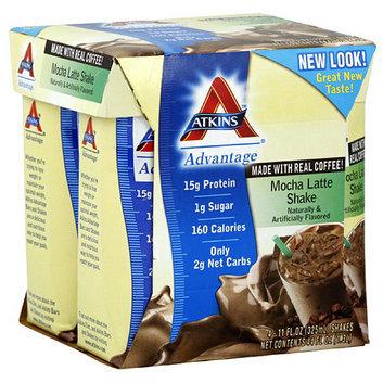 Atkins Mocha Latte Nutritional Shakes