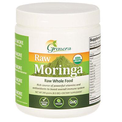 Grenera Nutrients Organic Raw Moringa Leaf Powder - 240g