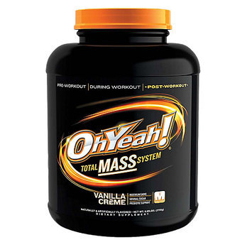 Ohyeah Nutrition ISS Research OhYeah! Total Mass System - Vanilla (5.95 lb)