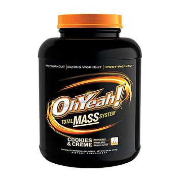 Ohyeah Nutrition ISS Research OhYeah! Total Mass System - Cookies & Creme (5.95 lb)